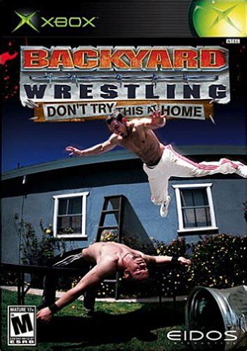 backyard wwe wrestling backyard wrestling don t try this at home xbox ign