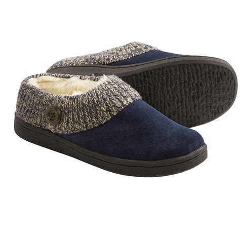 womens slippers clarks sweater button clog slippers for 7598r