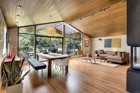 how to capture the mid century modern look at home