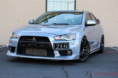 mitsubishi evo gsr custom find used 2008 custom mitsubishi lancer evolution evo x 10