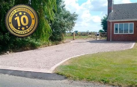 new gravel driveway lincolnshire the new driveway company