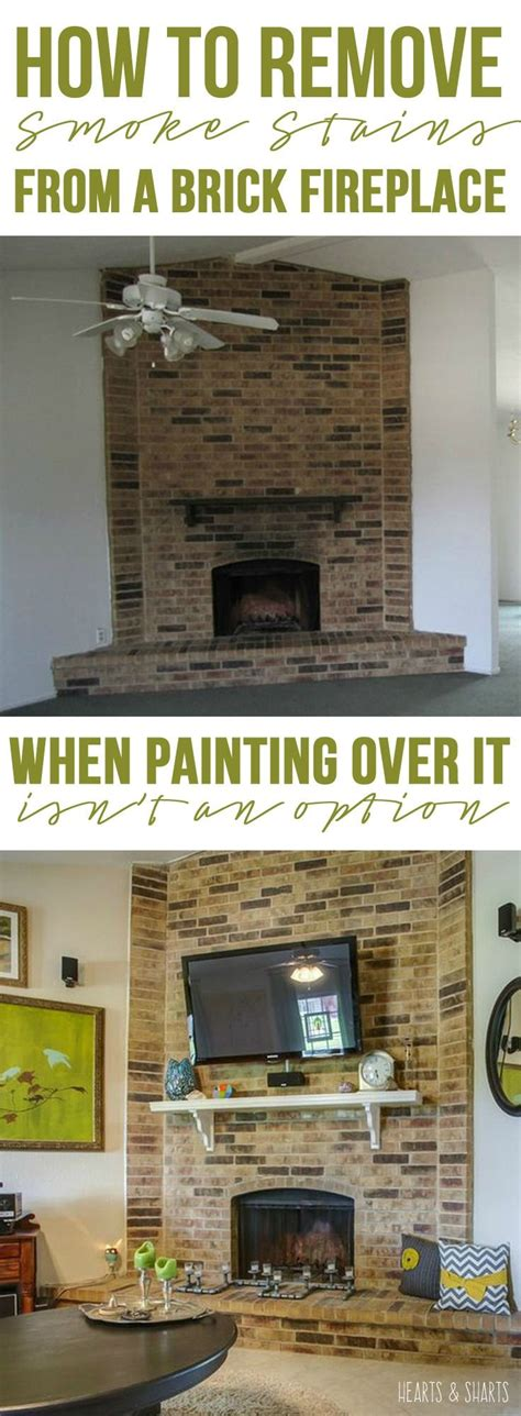 stone fireplace surround cleaning woodworking projects
