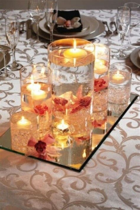 september wedding centerpieces glass table decor for september wedding candle table decor for