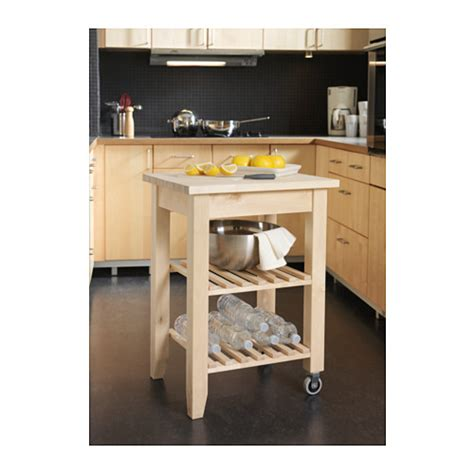 Ikea Rolling Kitchen Island Kitchen Cart Butcher Solid Wood Rolling Table Block Island