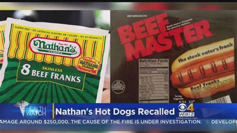 nathan recall recall nathan s dogs may be contaminated one news page