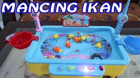 mancing ikan ikanan pancing pancingan ikan mainan anak
