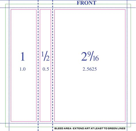 j card single sided template 50 professionally printed 3 panel j cards sided w