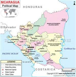 political map of nicaragua bringing democracy to nicaragua part 1 of 2