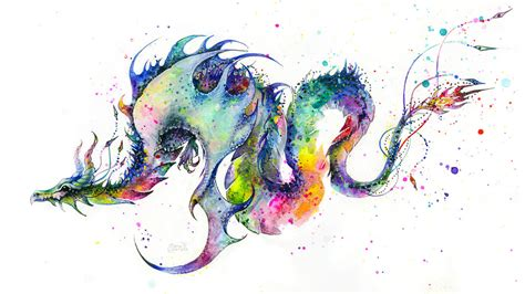 watercolor dragon tattoo tattoos on pinterest dragon tattoos tribal dragon