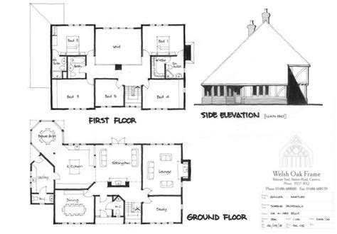 self build floor plans self build house plans uk house plans