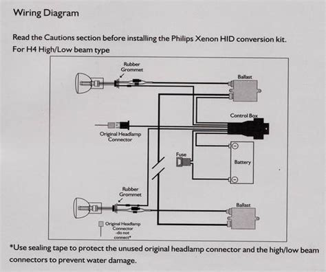 philips hid wiring diagram 28 images ddm hid wiring