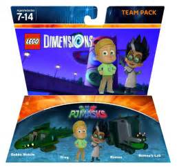 lego dimensions pj masks greg romeo team pack jackandannie180 deviantart