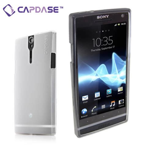 Graphic Softjacket soft jacket xpose for sony xperia s tinted white reviews