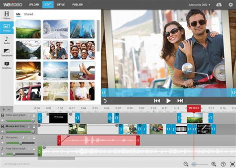 house maker online wevideo internet editing software videomaker com