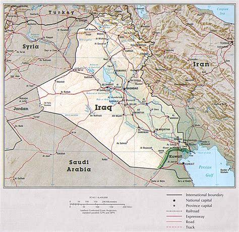 map iraq iraq maps perry casta 241 eda map collection ut library