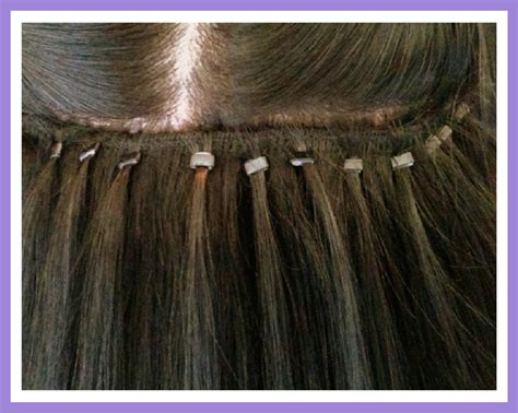 micro bead weft hair extensions micro bead weft