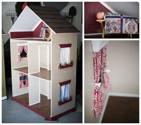 Handmade Dolls Houses - the alyssa handmade doll house for 18 inch by