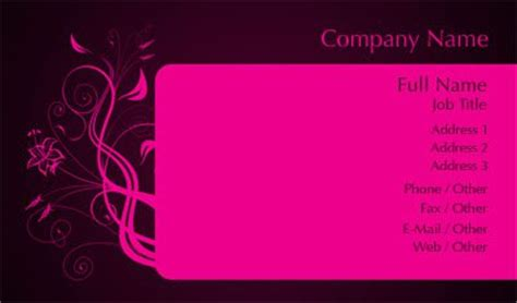 black and pink business card template business card template designs