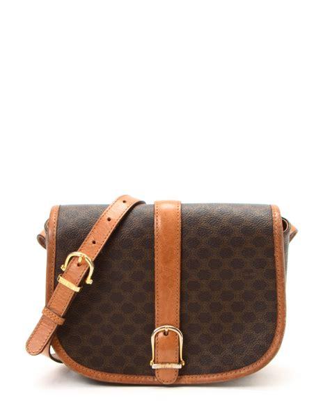 Gustto Baca Bag In Vintage Brown by Lyst C 233 Line Brown Shoulder Bag Vintage In Brown