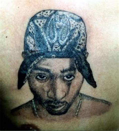tupac cross tattoo the gallery for gt tupac portrait tattoos