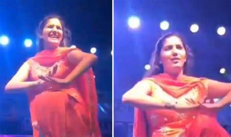sapna choudhary first song haryanvi sensation and chori 96 fame sapna choudhary