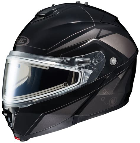 motocross helmet with shield hjc is max 2 elemental snow helmet electric shield