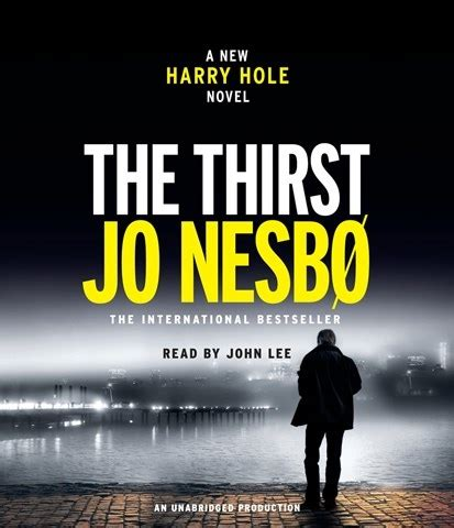 libro the thirst harry hole solve scandinavian and nordic crime audiofile magazine blog