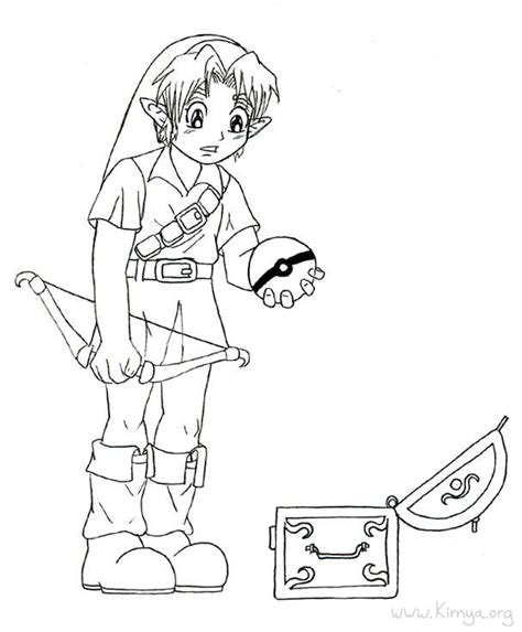zelda coloring pages printable zelda coloring pages lineart zelda link pinterest