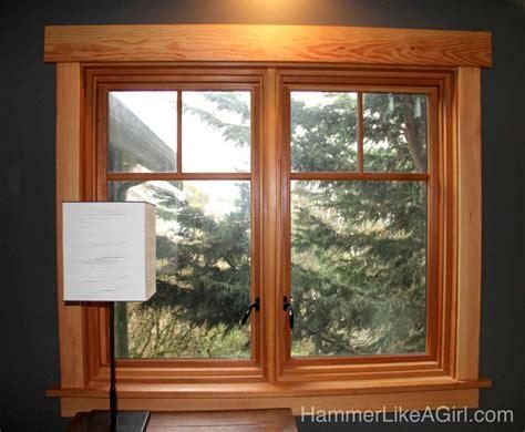 installing craftsman window trim finally hammer
