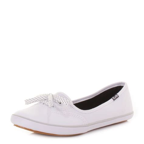 flat shoes for uk womens keds teacup white canvas flat shoes pumps plimsolls