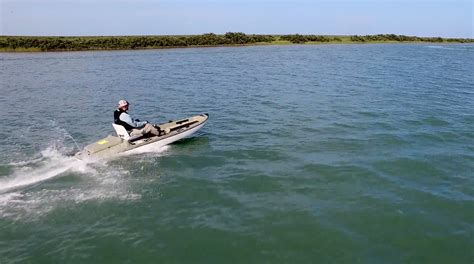 this quot kayak quot can hit 27 mph and the entire deck is fishable - Stik Boats