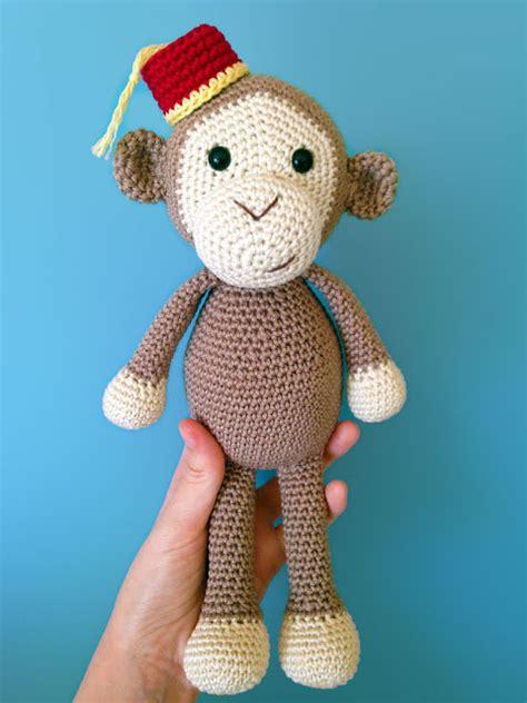 amigurumi pattern monkey cheeky little monkey free amigurumi pattern