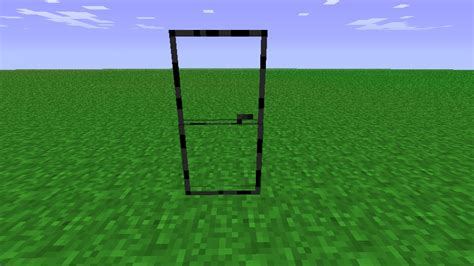 Glass Doors Please Comment Minecraft Texture Pack How To Make Glass Doors