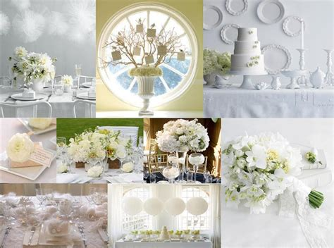 pure white elegant wedding receptions wedding decorations