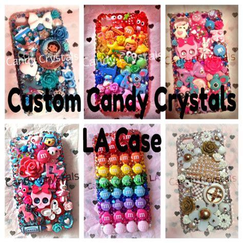 candy crystals la custom candy wonderland deco phone