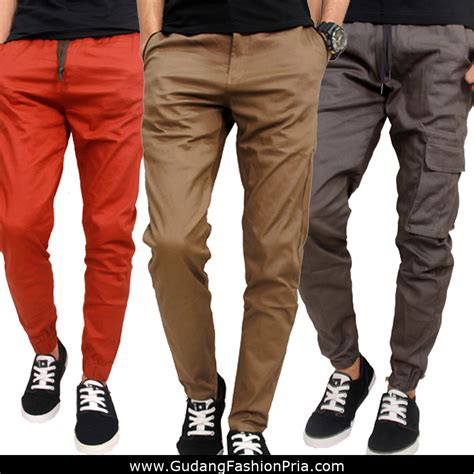 Celana Jogger Cargo Lod Panjang Pria celana jogger panjang pria jogger celana