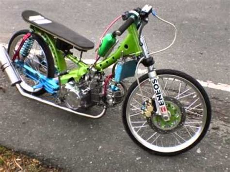 Modification Dirt Bike 125cc by Honda Excess Drag Scoot For Modified Category