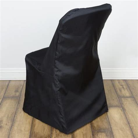 Cheap Black Chair Covers by Black Lifetime Folding Chair Cover Efavormart