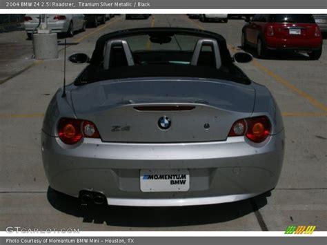 2004 bmw z4 2 5i roadster in titanium silver metallic photo no 52326201 gtcarlot