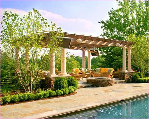 Pergola Home by Backyard Design With Pergola Kyprisnews