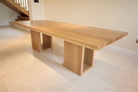 Oak Dining Table Uk Oak Dining Table With Hollow Legs Bespoke Luxury Furniture Nationwide Servicebespoke Luxury