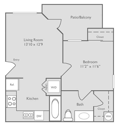 republic floor plan republic deer creek apartments fort worth tx