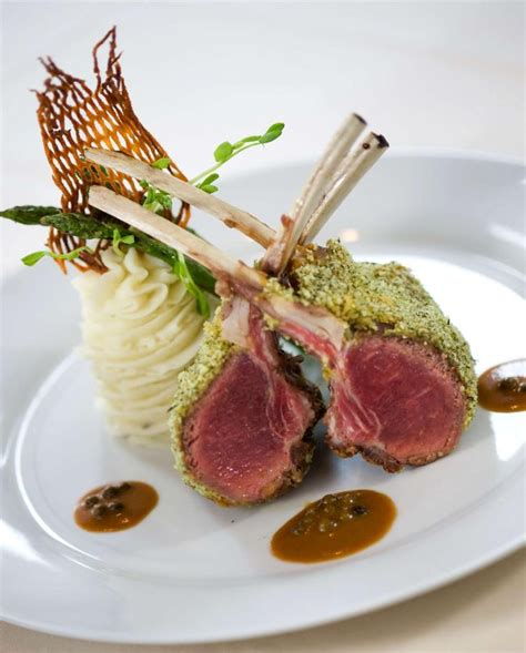 Herb Crusted Rack Of With Wine Jus by 1000 Images About Dinner Recipes On Pork