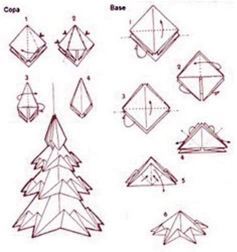 Origami Natal - profe ivete pinheiro de natal de origami