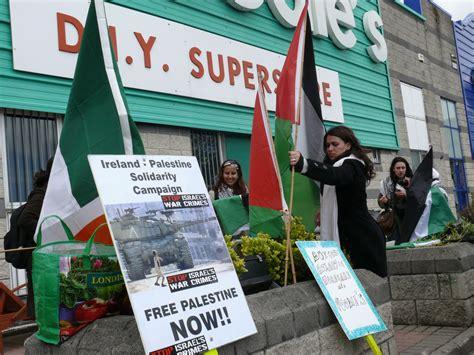 woodies diy limerick galway ireland palestine solidarity caign picket
