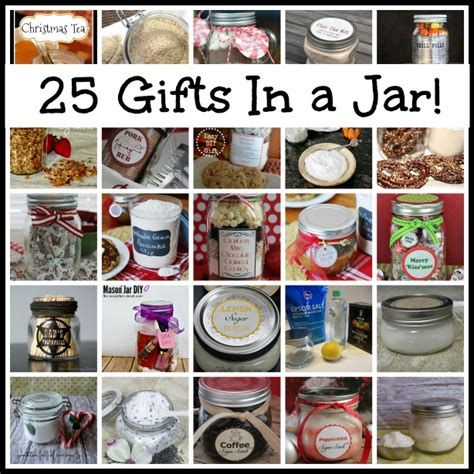 25 wonderful amazing fabulous gifts in a jar that one mom