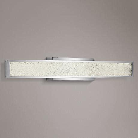 kichler 45617chled landi contemporary chrome led 24 kichler tully 24 quot wide chrome opal 3 light bath light