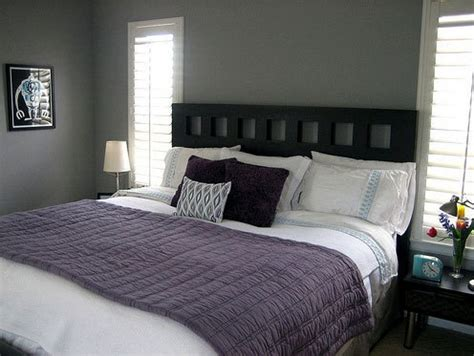 Purple Gray Bedroom by A Gallery Of Gorgeous Gray Bedrooms