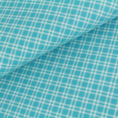 Organic In The Uk Check It Out by Stoffonkel Organic Jersey Check Blue Harvey Fabrics
