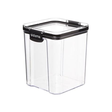 ultra tritan ml square  storage box
